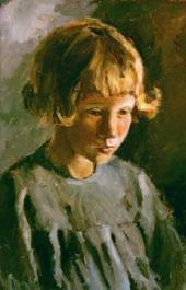 Andrei GORSKY. Valya Gerasimova from Pereslavl-Zalessky. 1949