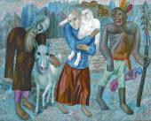THE FLIGHT INTO EGYPT. 1918