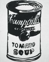 CAMPBELL'S SOUP (TOMATO). 1985