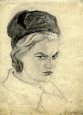 NIKOLAI KOVALCHUK. VALYA. 1941