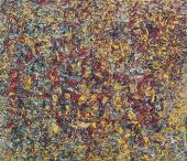 FINGER-MADE PAINTING. 1956