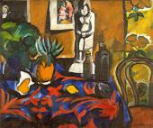 Still-Life With Pineapple. 1909