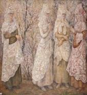 Spring. Spanish Wom en in White. 1932