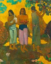 Paul Gauguin RU PERU PE (Fruit Gathering in Tahiti). 1899