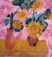 Natalia Goncharova. Sunflowers. 1908-1909