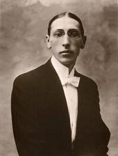 Igor Stravinsky. Photo. 1910