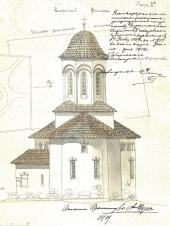 Alexei Shchusev. Design of the Holy Trinity Church in Cuhureştii