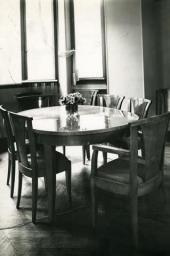 Furniture designed by Natalia Goncharova. Photo.