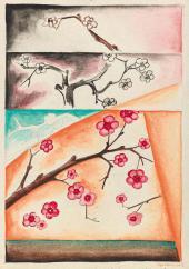Natalia Goncharova. Les arbres en fleurs (Pommiers en fleurs)