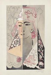 Natalia Goncharova. Espagnole. Mid-1920s