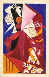 Natalia Goncharova. Costume Espagnole. 1917-1918