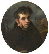 Orest Kiprensky. Portrait of V.A. Zhukovsky. 1815