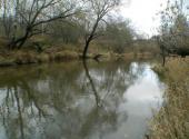 The Peksha River today. Photo