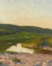Summer Day. 1892. Detail