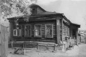 The house of THE peasant A.Popkov in the Gorodok village