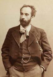Isaac Levitan. Photo. Early 1890s