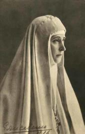 Grand Duchess Elizaveta Fyodorovna. Photograph. 1916