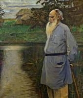Portrait of Leo Tolstoy. 1907