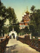 The east-side entry to Gefsimansky Chernigovsky Skete. The 1900s