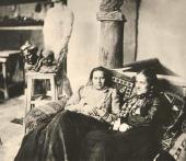 Anna Golubkina and Yelena Golinevich