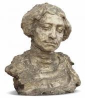Portrait of Maria Sredina. 1904