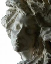 """The vase """"Mist"""". 1899. Detail"""