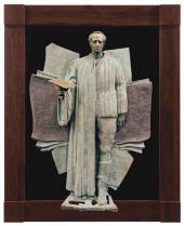 "Sculptural reliefs from the series ""My Contemporaries "": Joseph Brodsky. 199"