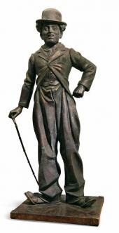 Monument to Charlie Chaplin. 2005