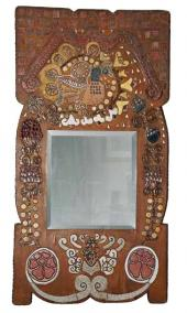 Mirror in a Frame. Early 1900s