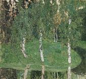 Birch Trees. 1908-1910