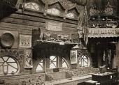 Interior design of craft Section at the 1900 World Fair in Paris