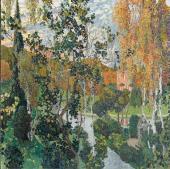 Landscape. Pavlovsk. 1911