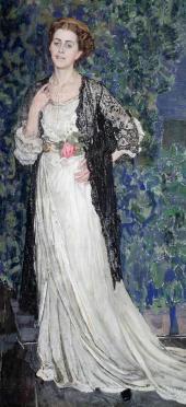 Portrait of Marina Makovskaya. 1912