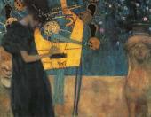 Gustav Klimt. Music I. 1895