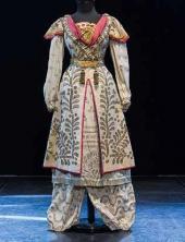 "Cashmere Dame. Costume design to ""Masquerade"", drama by Mikhail Lermontov. 1917"