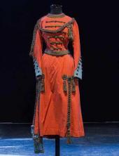 "Vivandiere. 1917 Costume design to ""Masquerade"", drama by Mikhail Lermontov"