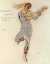 """oviello. Costume design to """"Masquerade"""", drama by Mikhail Lermontov"""