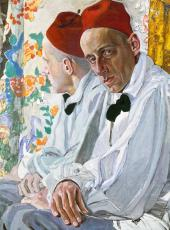 Portrait of Vsevolod Meyerhold. 1917