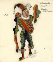 "Jester. ""Masquerade"" by Mikhail Lermontov"