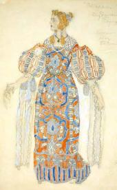 "Desdemona. Costume design for ""Othello"""