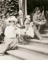 Gurly Telyakovskaya, Vsevolod Telyakovsky, Irina Telyakovskaya (only head with a