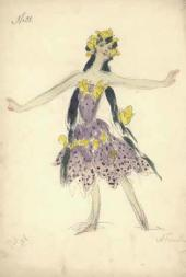 Alexander Golovin, Gurly Telyakovskaya. Female costume design