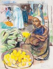 Zinaida Serebryakova. Fruit-seller. Marrakesh. 1928