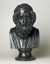Basalt bust of Homer. 1780-1800