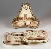 "Items from ""The Green Frog Service"", England. Wedgwood. 1773-1774"