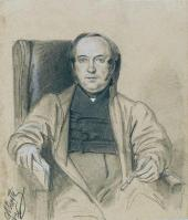 Portrait of V.I. Grigorovich, Conference Secretary of the Imperial Academy of Ar