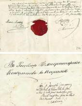 Last will and testament of Mikhail Scotti. 1861
