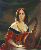 An Italian Woman. 1840s