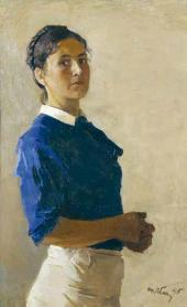 Self-portrait. 1945
