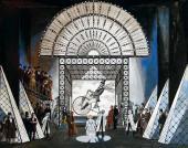 """Valery Levental. Set design for """"Les Contes d'Hoffmann"""""""